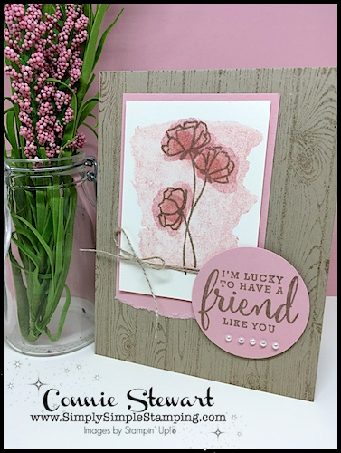 MAKE IT IN MINUTES FLASH CARD video – Lucky to Have a Friend Like You
