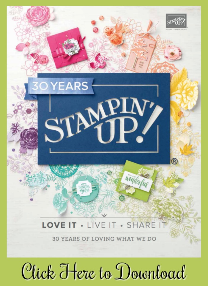 Download the NEW 2018-2019 Stampin' Up catalog at www.SimplySimpleStamping.com!
