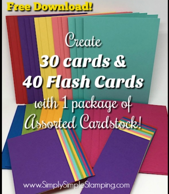 FLASH CARDS Card Bases & Flash Cards Ready to Go
