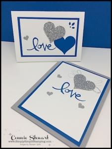 Simple Wedding invitations - Watercolor Words - www.SimplySimpleStamping.com