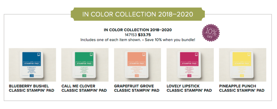 Special EARLY RELEASE from the NEW Stampin' Up catalog - the NEW IN COLORS are here! Check it out at www.SimplySimpleStamping.com - May 3, 2018 blog post!