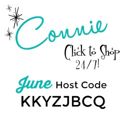 Use the JUNE Host Code KKYZJBCQ on your order of $30 or more and receive Surprise & Delight in your hand stamped thank you card! www.SimplySimpleStamping.com