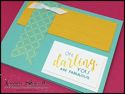 Join Connie in a big glass of Creative Juice! Fun sketches to get your creative juices flowing. A new set of sketches every week! www.SimplySimpleStamping.com - June 29, 2018 blog post!