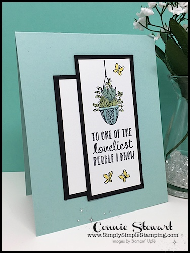 Now or WOW FLASH CARD video - Hanging Garden - www.SimplySimpleStamping.com - look for the June 7, 2018 blog post