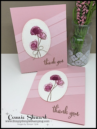 Now or WOW Flash Card Mash Up video – Thank You Flowers