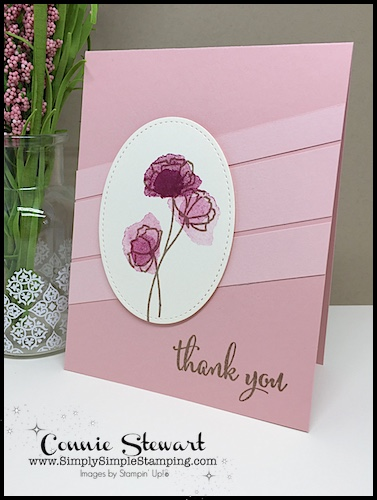 Now or WOW FLASH CARD Mash Up video - Thank You Flowers - www.SimplySimpleStamping.com - look for the June 28, 2018 blog post