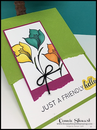 Join Connie in a big glass of Creative Juice! Fun sketches to get your creative juices flowing. A new set of sketches every week! www.SimplySimpleStamping.com - July 13, 2018 blog post!