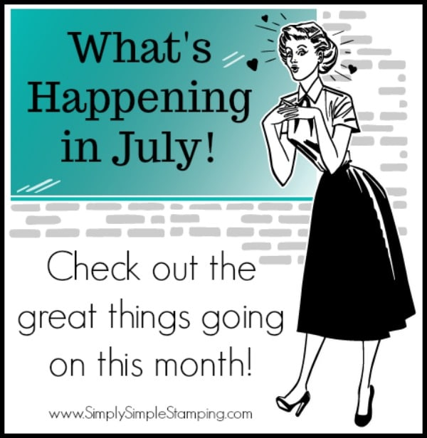 What's Happening in July