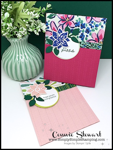 MAKE IT MONDAY – Pop of Petals card