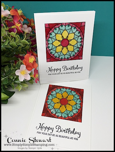 2-MINUTE TUESDAY TIP - Coloring on Vellum - www.SimplySimpleStamping.com - look for the July 10, 2018