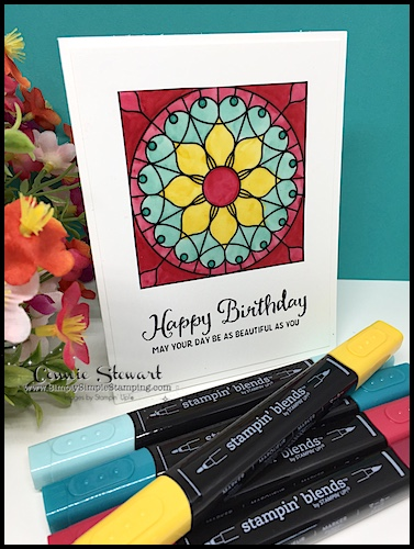 2-Minute Tuesday Tip – How to Color Graceful Glass Vellum