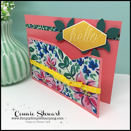 MAKE IT MONDAY – Hello Card
