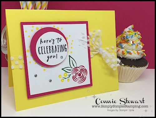 2-MINUTE TUESDAY TIP - Adding several colors to a stamp - www.SimplySimpleStamping.com - look for the August 7, 2018