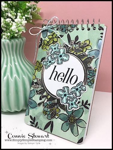 2-Minute Tuesday Tip video – Spiral Notebook Cover