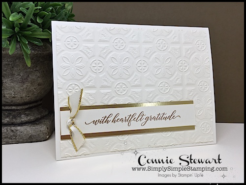 DIY 5 Minute Greeting Card Video Tutorial - watch Connie Stewart create this quick card with the Kindness & Compassion stamp set. Easy and SPEEDY! Look for the September 22, 2018 post on www.SimplySimpleStamping.com