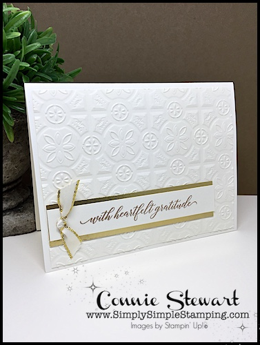 SPEEDY DELIVERY 2-Minute Video - watch Connie Stewart create this quick card with the Kindness & Compassion stamp set. Easy and SPEEDY! Look for the September 22, 2018 post on www.SimplySimpleStamping.com