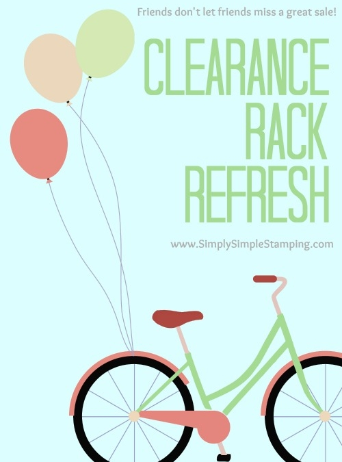 Stampin' Up! Clearance Rack REFRESH