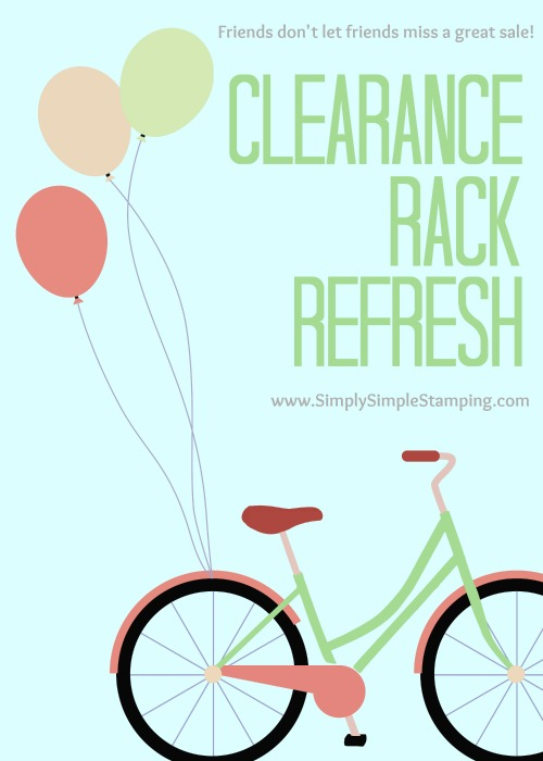 New Items have been added to the Clearance Rack! Check them out at www.SimplySimpleStamping.com!