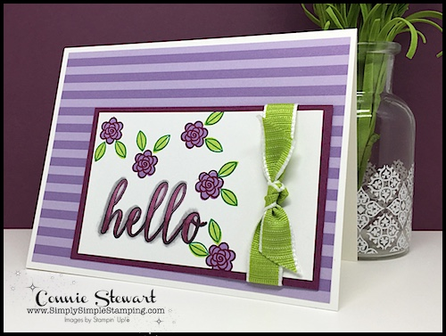 Join Connie in a big glass of Creative Juice! Fun sketches to get your creative juices flowing. A new set of sketches every week! www.SimplySimpleStamping.com - September 28, 2018 blog post!
