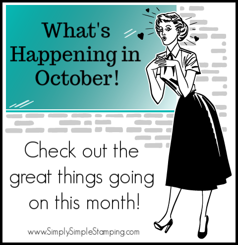 What's Happening in October!