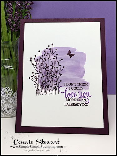 MAKE IT IN MINUTES video- Quick Card Making with Enjoy Life Stamp Set - www.SimplySimpleStamping.com - look for the October 11, 2018 post. . Let me show you how to make this beautiful card in mere minutes! #cardmaking #greetingcards #stampinupcards #cardsbyconnie #conniestewart #simplysimplestamping