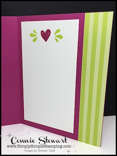 Because of You: Speedy Delivery 2-Minute Video- watch Connie Stewart create this quick card with the Friendly Conversations stamp set. Easy and SPEEDY! Look for the October 13, 2018 post on www.SimplySimpleStamping.com #cardmaking #greetingcards #stampinupcards #conniestewart #simplysimplestamping