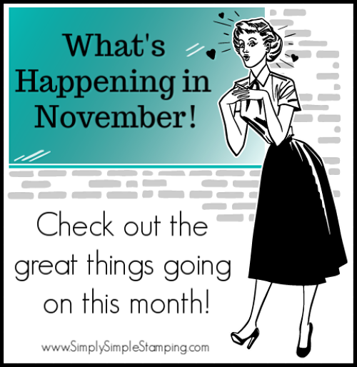 What's Happening in November