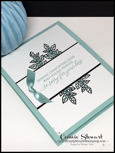 Christmas and Beyond with Peaceful Poinsettia-Double Feature Video- watch Connie Stewart create this 2 different quick cards with the Peaceful Poinsettia stamp set. Look for the November 8, 2018 post on www.SimplySimpleStamping.com #greetingcards #cardmaking #stampinupcards #conniestewart #simplysimplestamping
