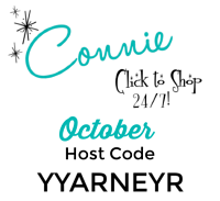 Use the OCTOBER Host Code YYARNEYR on your order of $30 or more and receive Surprise & Delight in your hand stamped thank you card! www.SimplySimpleStamping.com