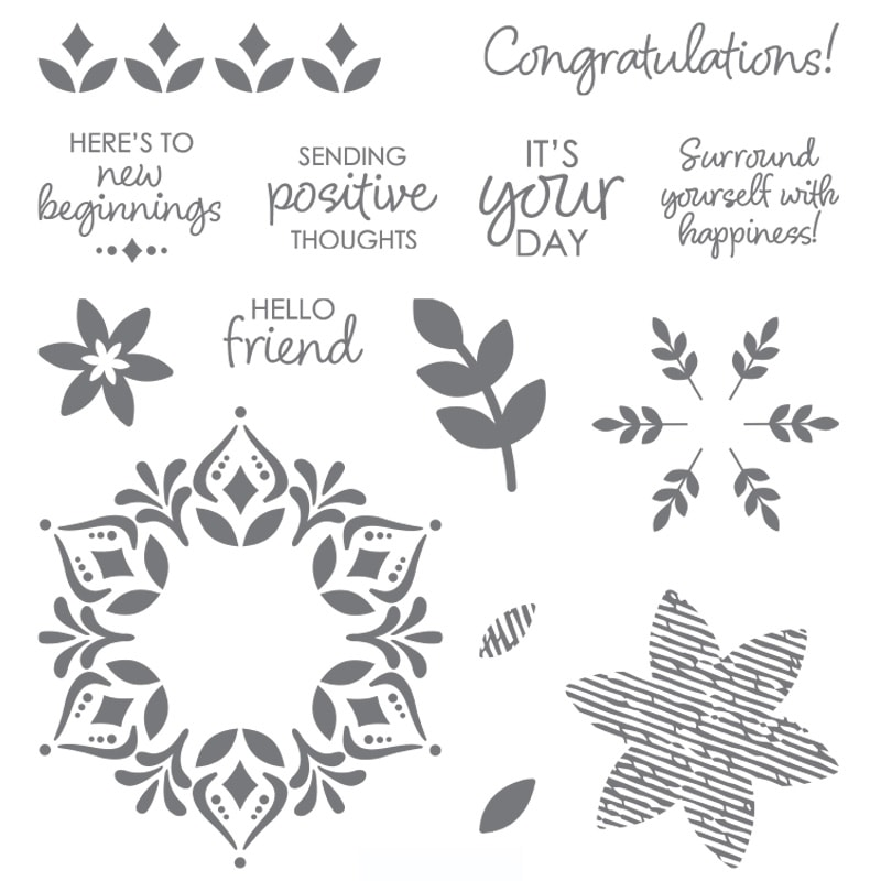 Get your hands on the HAPPINESS SURROUNDS stamp set before it's gone for good! Available only until November 30, 2018 or while supplies last! Order at www.SimplySimpleStamping.com