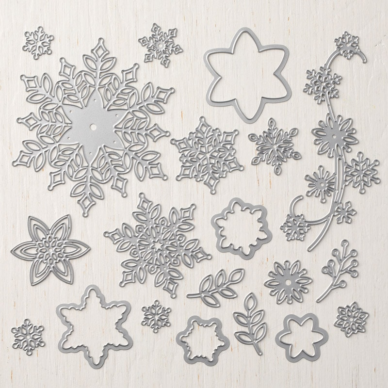 Get your hands on the SNOWFLAKE THINLITS before they are gone for good! Available only until November 30, 2018 or while supplies last! Order at www.SimplySimpleStamping.com