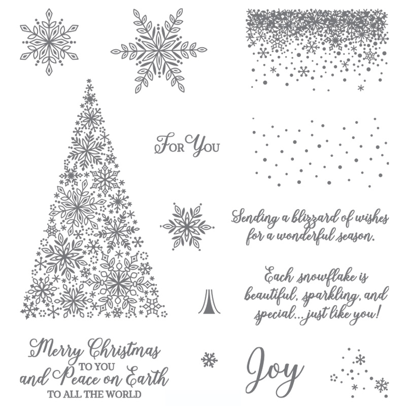 Get your hands on the SNOW IS GLISTENING stamp set before it's gone for good! Available only until November 30, 2018 or while supplies last! Order at www.SimplySimpleStamping.com