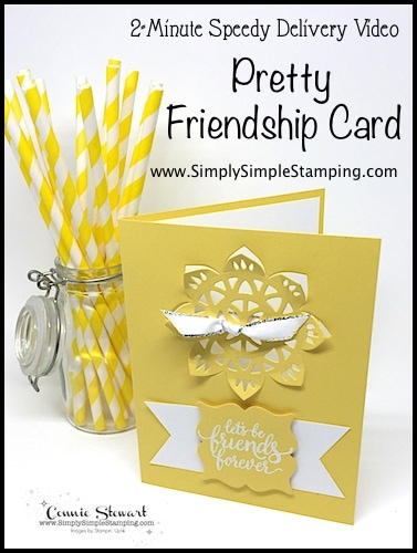 Pretty Friendship Card | Speedy Delivery 2-Minute Video