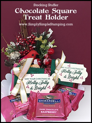 Chocolate-Square-Treat Holder-Stocking-Stuffer-Idea