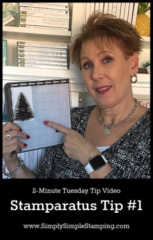 Stamparatus Tip #1 | 2 Minute Tuesday Tip