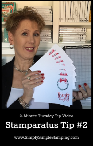 Stamparatus Tip #2 | 2-Minute Tuesday Tip