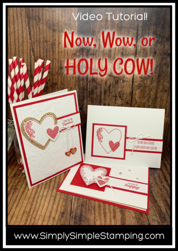 Handmade Valentine Cards | Now, Wow or HOLY COW