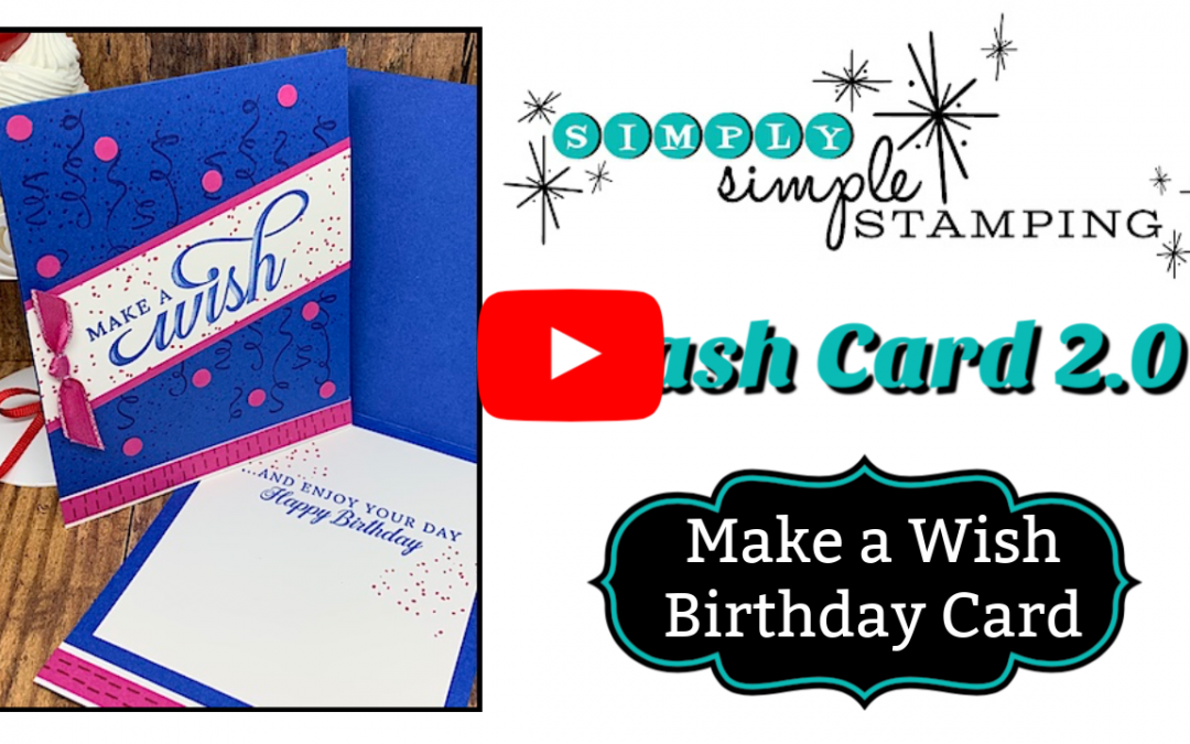 Festive Birthday Card Ideas | Simple Stamping Style