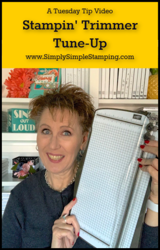 Stampin' Paper Trimmer Tune-Up | Tuesday Tip