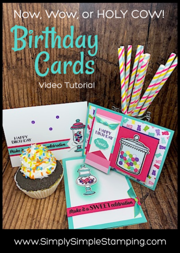 Sweet Birthday Cards | Now, Wow, or HOLY COW