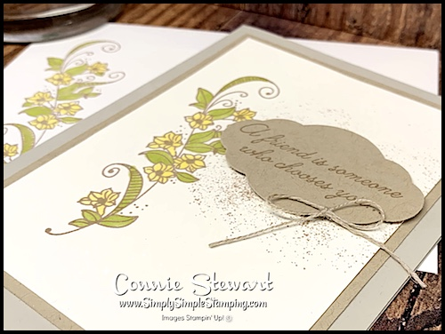 Handmade Card Image with Colorful Flowers