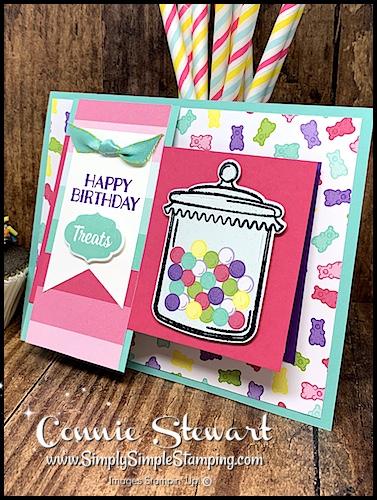 Sweet Birthday Card Image by Connie Stewart