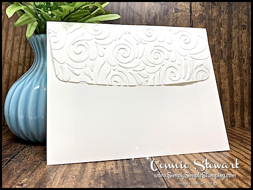 How to Emboss an Envelope Flap