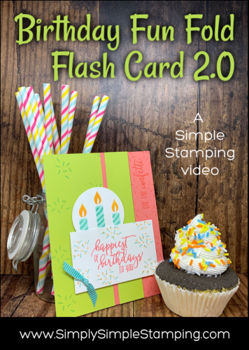 Birthday Fun Fold | Flash Card 2.0