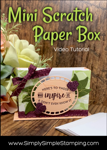 Mini Scratch Paper Box | Video