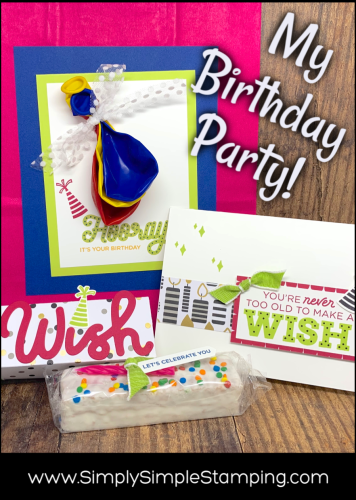 My Stampin Birthday Party