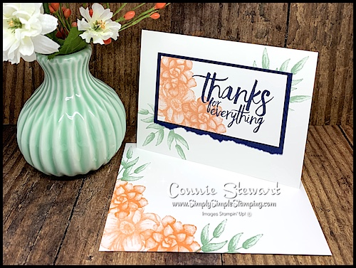 Thank-You-Card-with-Distinktive-Stamps-in-Peach-Florals