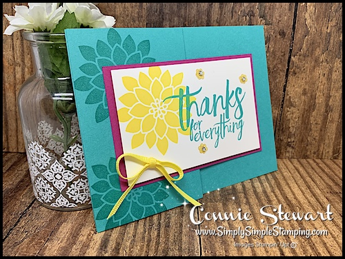 Stampin-Up-Flourishing-Phrases-Thank-You-Card-with-Yellow-Ribbon