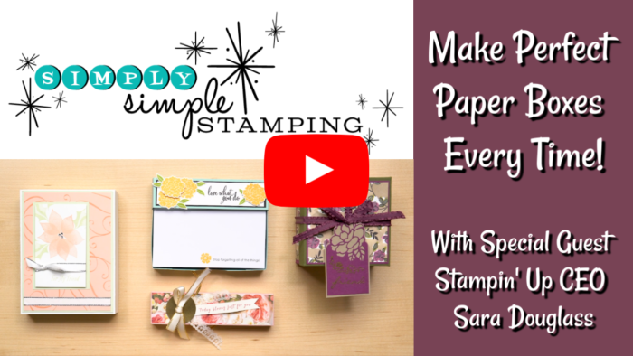Make Perfect Paper Boxes Every Time!