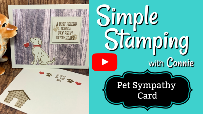Stampin-Up-Happy-Tails-Handmade-Card-Tutorial-with-Dog-on-Wood-Grain-Background
